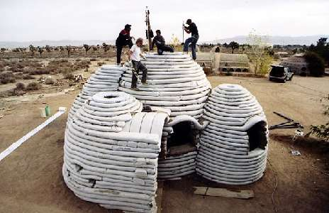 earthbag dome